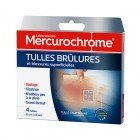 MERCUROCHROME TULLES BURNS AND SUPERFICIAL WOUNDS 4 TULLES