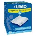 URGO COMPRESSES STERILE 50 BAGS X 2 10CMX10CM